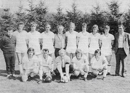 Die Aufstiegsmannschaft 1973/74